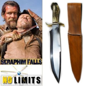 SERAPHIM FALLS - POIGNARD REPRODUCTION AUTHENTIQUE (PRACTICAL MAITRE FORGERON - NO LIMITS)