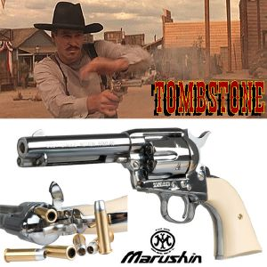 TOMBSTONE - COLT DOC HOLLIDAY SAA 45 PEACEMAKER OFFICIEL (VERSION AIRSOFT MARUSHIN)