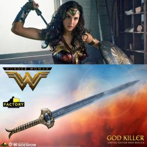 "WONDER WOMAN - EPEE OFFICIELLE "" GOD KILLER"" LIMITED EDITION PROP REPLICA (DC MOTION PICTURE)"