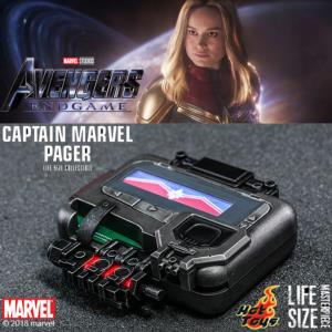 AVENGERS: ENDGAME - CAPTAIN MARVEL PAGER OFFICIEL BIPER ECHELLE 1/1 (MARVEL - HOT TOYS)