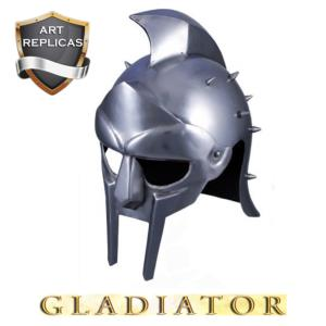 GLADIATOR - CASQUE MAXIMUS REPRODUCTION AVEC SUPPORT (VERSION ART REPLICAS)