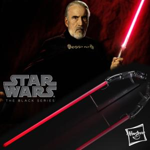 STAR WARS - SABRE LASER COUNT DOOKU FX (HASBRO - THE BLACK SERIES)