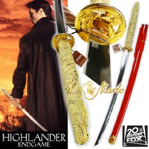 HIGHLANDER ENDGAME - SABRE DUNCAN MAC LEOD OFFICIEL MARTO LIMITED ED. (IMPORT US 20TH CENTURY FOX)