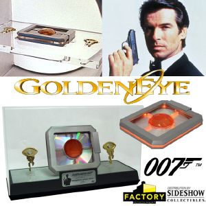 JAMES BOND : GOLDENEYE - LENS & KEYS LIMITED EDITION PROP REPLICA