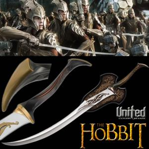 THE HOBBIT - EPEE ELFIQUE MIRKWOOD INFANTRIE OFFICIELLE (UNITED CUTLERY)
