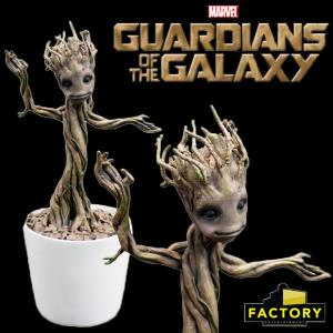 GARDIENS DE LA GALAXIE (LES) - GROOT DANCING OFFICIEL LIMITED EDITION (ECHELLE 1:1  FACTORY ENTERT.)