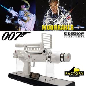 JAMES BOND : MOONRAKER - LASER RIFLE LIMITED EDITION PROP REPLICA (FACTORY ENTERTAINMENT)