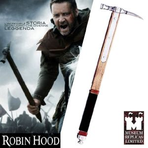 ROBIN HOOD (RIDLEY SCOTT) - MARTEAU DE GUERRE (WAR HAMMER) VERSION FORGE MAIN (WINDLASS STUDIO)