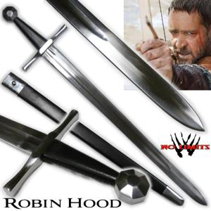 ROBIN HOOD (RIDLEY SCOTT) - EPEE REPRODUCTION AUTHENTIQUE (PRACTICAL MAITRE FORGERON - NO LIMITS)