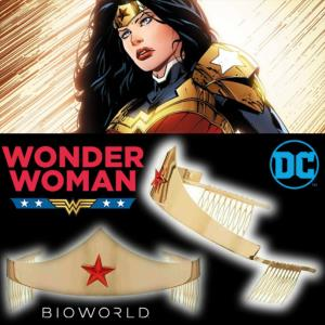 WONDER WOMAN - TIARE OFFICIELLE DC COMICS DIADEME PROP REPLICA (DC COMICS - BIOWORLD)
