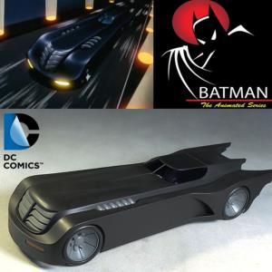 BATMAN, ANIMATED SERIES - BATMOBILE OFFICIELLE 61 CM (DC COLLECTIBLES)