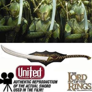 LOTR - HAUTS ELFES SWORD OFFICIEL