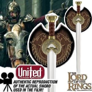 LOTR - KING THEODEN SWORD OFFICIELLE