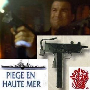 PIEGE EN HAUTE MER (UNDER SIEGE) - SUBMACHINE GUN